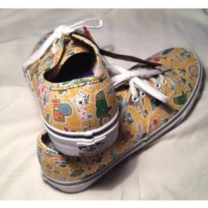 Vans Shoes - Vans Liberty of London Alice in wonderland shoes